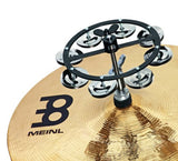 Meinl Cymbals HTHH1BK Mountable Hihat Tambourine with Steel Jingles (VIDEO)