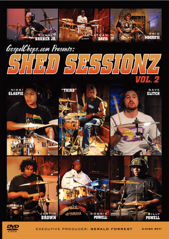 Shed Sessionz Vol. 2 (DVD)