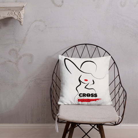 Premium CROSS Couture Pillow