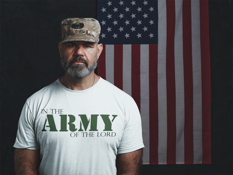 """In the Army of the Lord"" T-Shirt"