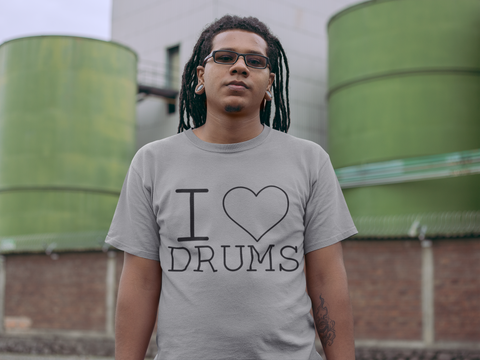 """I LOVE DRUMS"" T-Shirt"