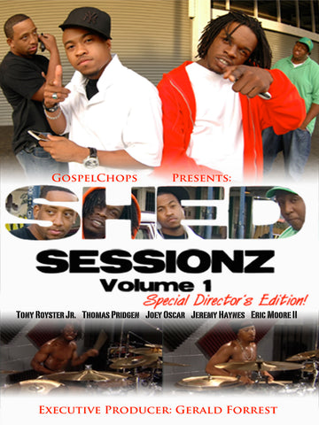Shed Sessionz Vol. 1 (DVD)