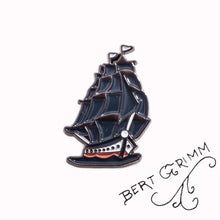 Load image into Gallery viewer, Bert Grimm® Ship Enamel Pin