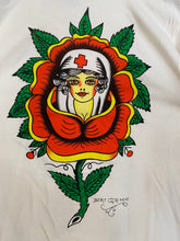 "Load image into Gallery viewer, Pretty Boy Floyd ""Nurse"" Tattoo T-Shirt by Bert Grimm® Official"