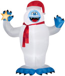 Gemmy Giant Airblown Inflatable Bumble in Santa Hat