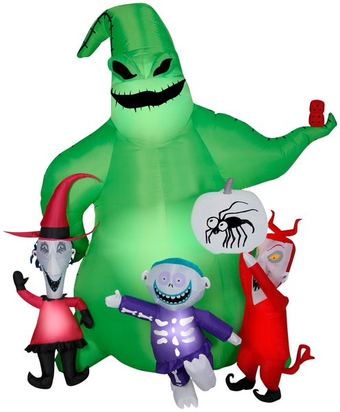 Gemmy Airblown Oogie with Creatures Halloween Inflatable