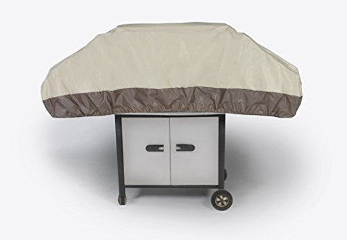 "Patio 59"" Grill Top Cover - Waterproof Vinyl - 59"" x 19"" x 18""H - Techmatic"