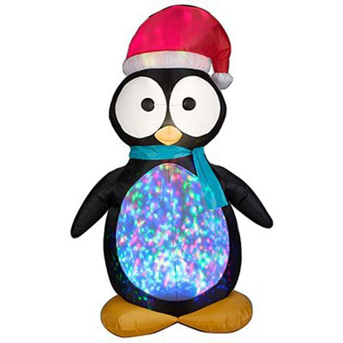 Gemmy Industries 87752 Kaleidoscope Penguin - Techmatic