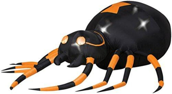 Gemmy Industries Airblown Animated Spider - Techmatic