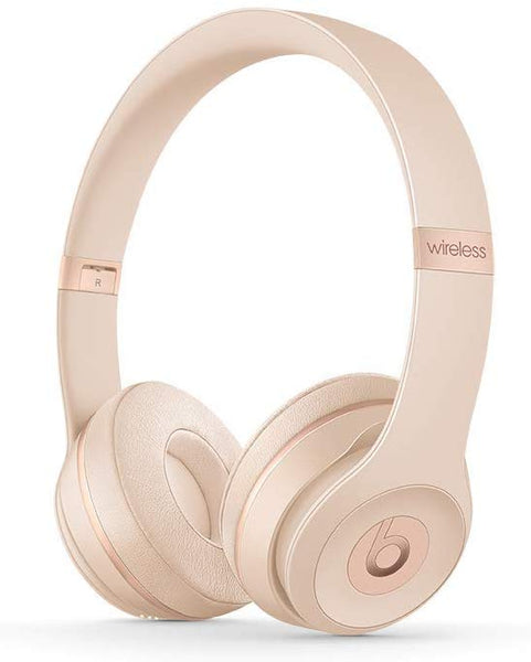 Beats Solo3 Wireless On-Ear Headphones - Matte Gold - Techmatic