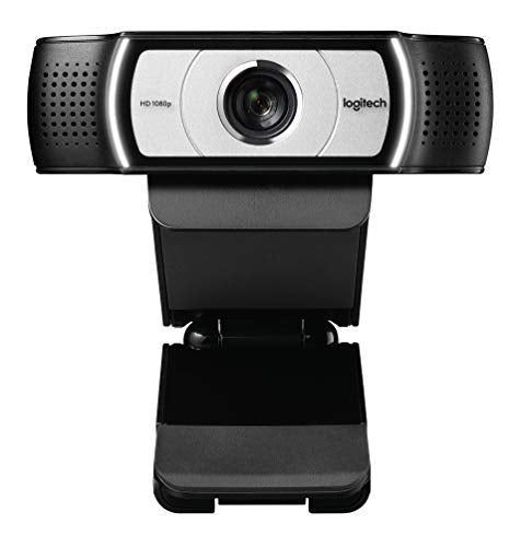 Logitech C930e 1080P HD Video Webcam 90 Degree Extended View, Microsoft Lync 2013 and Skype Certified - Techmatic