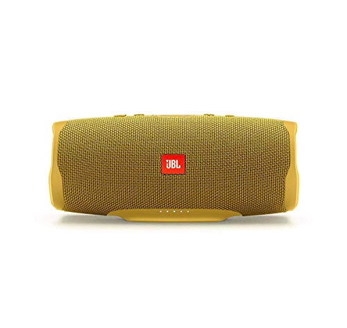 JBL Charge 4  Waterproof Portable Bluetooth Speaker  Yellow - Techmatic