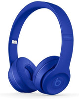 Beats Solo3 Wireless On-Ear Headphones, Neighborhood Collection, Break Blue - Techmatic
