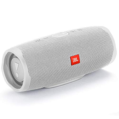 JBL Charge 4 Waterproof Portable Bluetooth Speaker White (JBLCHARGE4WHTAM) - Techmatic