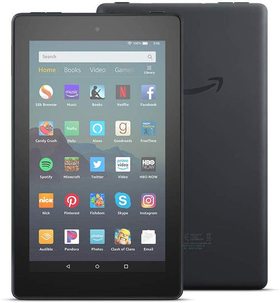 Fire 7 Tablet, 7inch display, 16 GB, Black - Techmatic