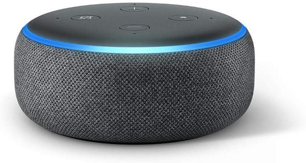 Amazon 3rd Generation Echo Dot, Charcoal - Techmatic