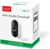 Arlo Audio Doorbell, White (AAD1001-100NAS)