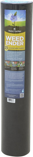 Master Gardner Weedender 25-Year Commercial Grade Weed Control Landscape Fabric, 3 Feet x 50 Feet - Techmatic