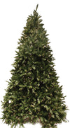 Special Happy Corp LTD 96216 Tree Full PVC Douglas Fir Blue Green 650 Clear Lights 1373 Tips, 6-1/2-Foot