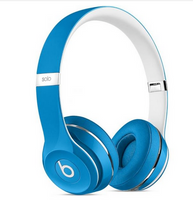 Beats Solo2 Wired On-Ear Headphones Luxe Edition - Blue - Techmatic