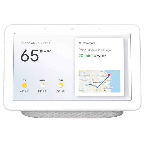Google Home Hub Assistant GA00516-US, (Charcoal or White) - Techmatic