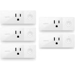 Wemo Mini Smart Plug, Wi-Fi Enabled, Compatible with Alexa and Google Home (F7C063-RM2)
