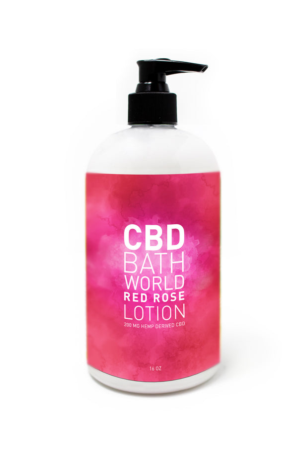200mg Lotion - Rose