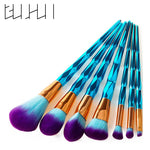 4/7/10Pcs Diamond Makeup Brushes Set Foundation