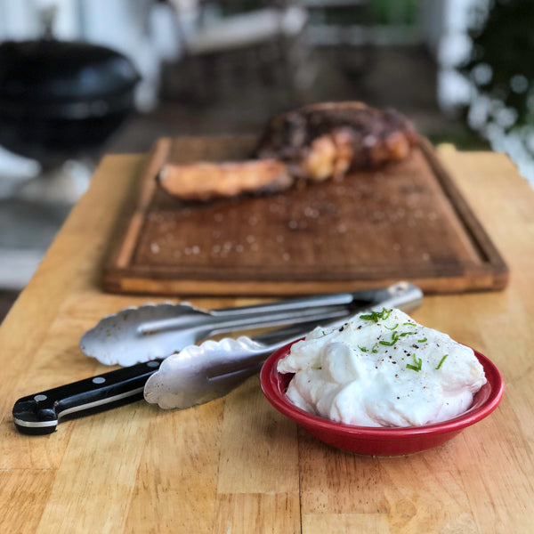 KETO HORSERADISH WHIPPED CREAM