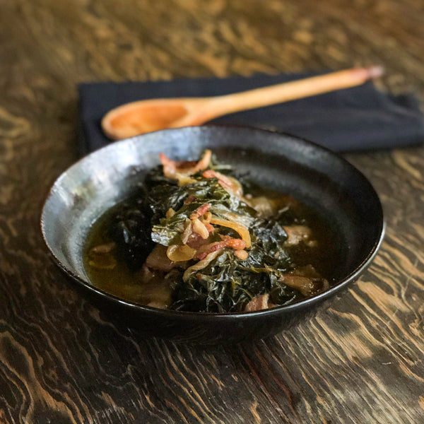 KETO KOREAN SPINACH