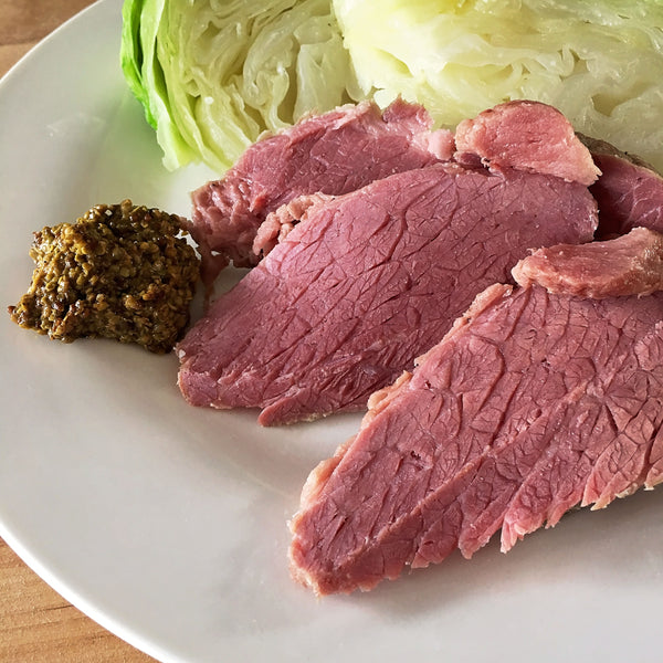 KETO CORNED BEEF AND CABBAGE
