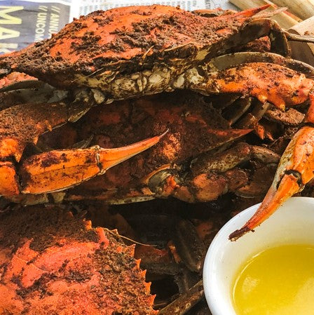 KETO STEAMED BLUE CRABS