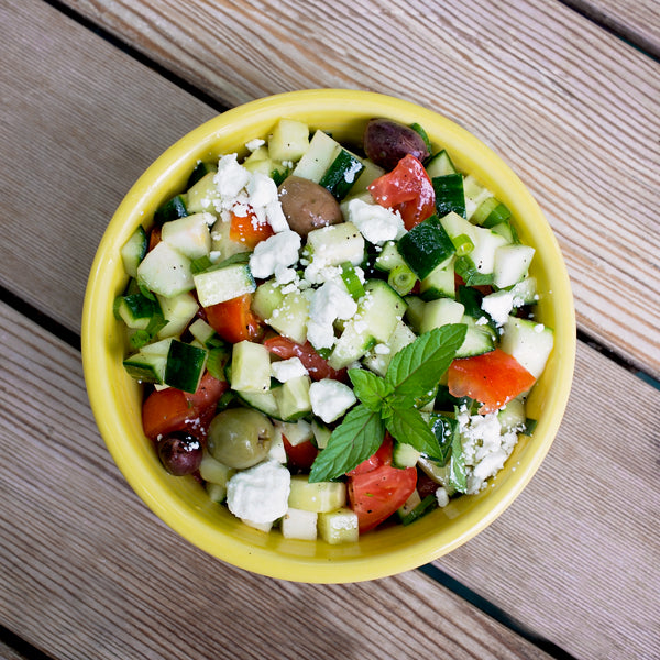 KETO SUMMER SALAD WITH MINT