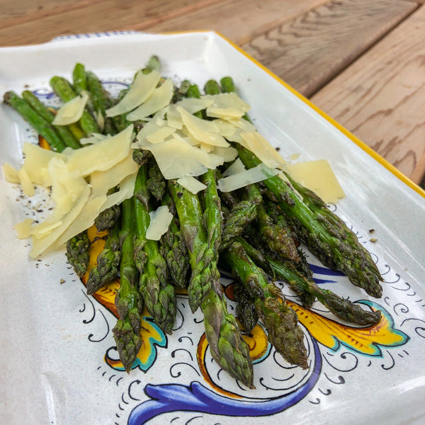 KETO TRUFFLE ASPARAGUS WITH PARMESAN