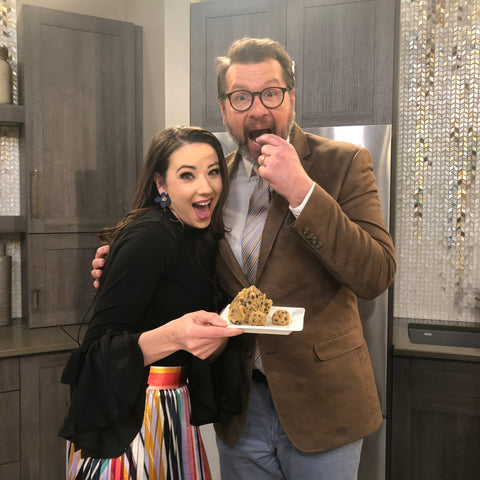 KETO CHOCOLATE CHIP COOKIE DOUGH BY CHEF ALEXA OF KETOLUXE INDY STYLE SHOW