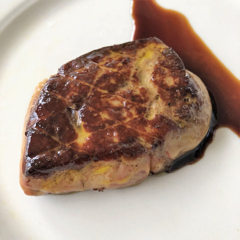 This picture of foie gras literally makes my mouth water.
