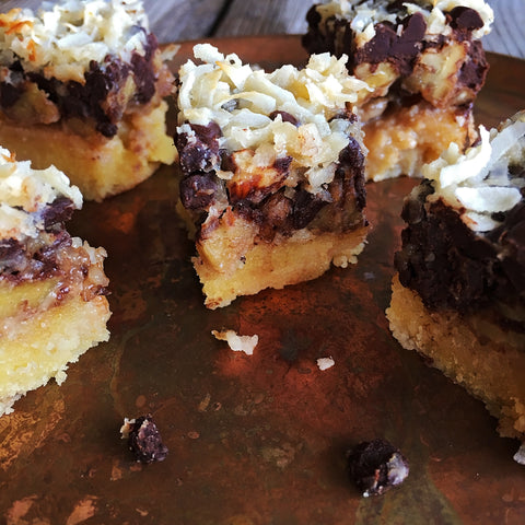 KetoLuxe Magical Bars Recipe by Chef Alexa Lemley