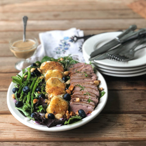 KetoLuxe Maine Duck Salad Recipe by Chef Alexa Lemley