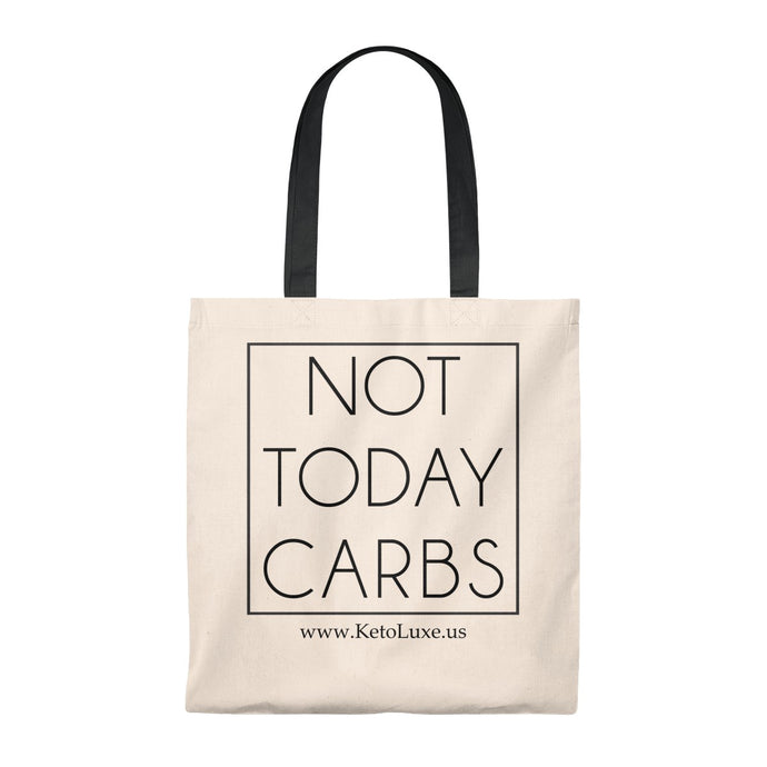 Not Today Carbs Tote Bag - Vintage