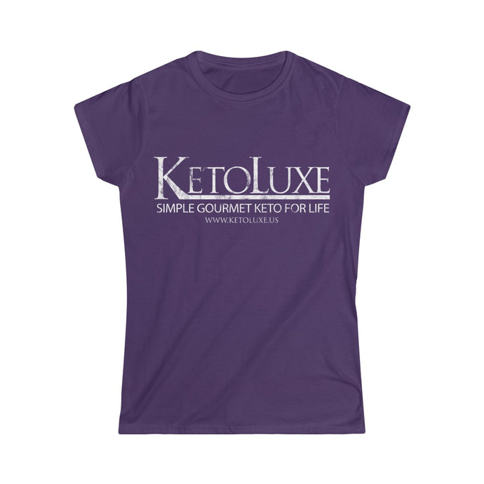 Washed & Worn KetoLuxe Logo Shirt - Women's Softstyle Tee