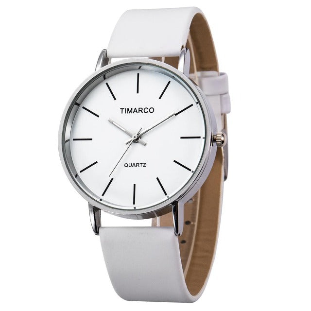 Slaying Queen-Analoog horloge dames-Leren horloge dames-Snow White-TrendBody