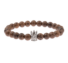 Afbeelding in Gallery-weergave laden, Wood grain bead bracelet-Heren Armband-14style-TrendBody