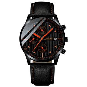 Minor Sweep-Chronograaf horloge heren-Space Red-TrendBody