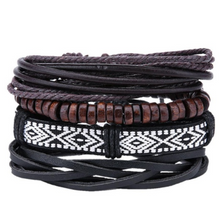 Afbeelding in Gallery-weergave laden, Retro Set-Leren armband heren-Variant 15-TrendBody