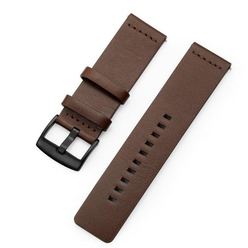 Design Leather horlogeband-Horlogeband-Horlogeband-Coffee Brown-TrendBody