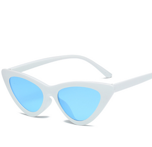 Cat Frame-Cat eye zonnebril dames-Cat eye zonnebril-Snow Blue-TrendBody