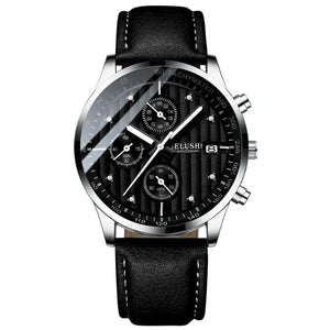Minor Sweep-Chronograaf horloge heren-Space Silver-TrendBody