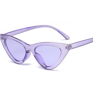 Cat Frame-Cat eye zonnebril dames-Cat eye zonnebril-Pastel Purple-TrendBody