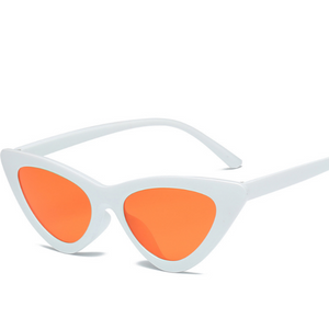 Cat Frame-Cat eye zonnebril dames-Cat eye zonnebril-Snow Orange-TrendBody