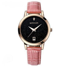 Load image into Gallery viewer, Shiny Gloss-Analoog horloge dames-Leren horloge dames-Candy Pink-TrendBody